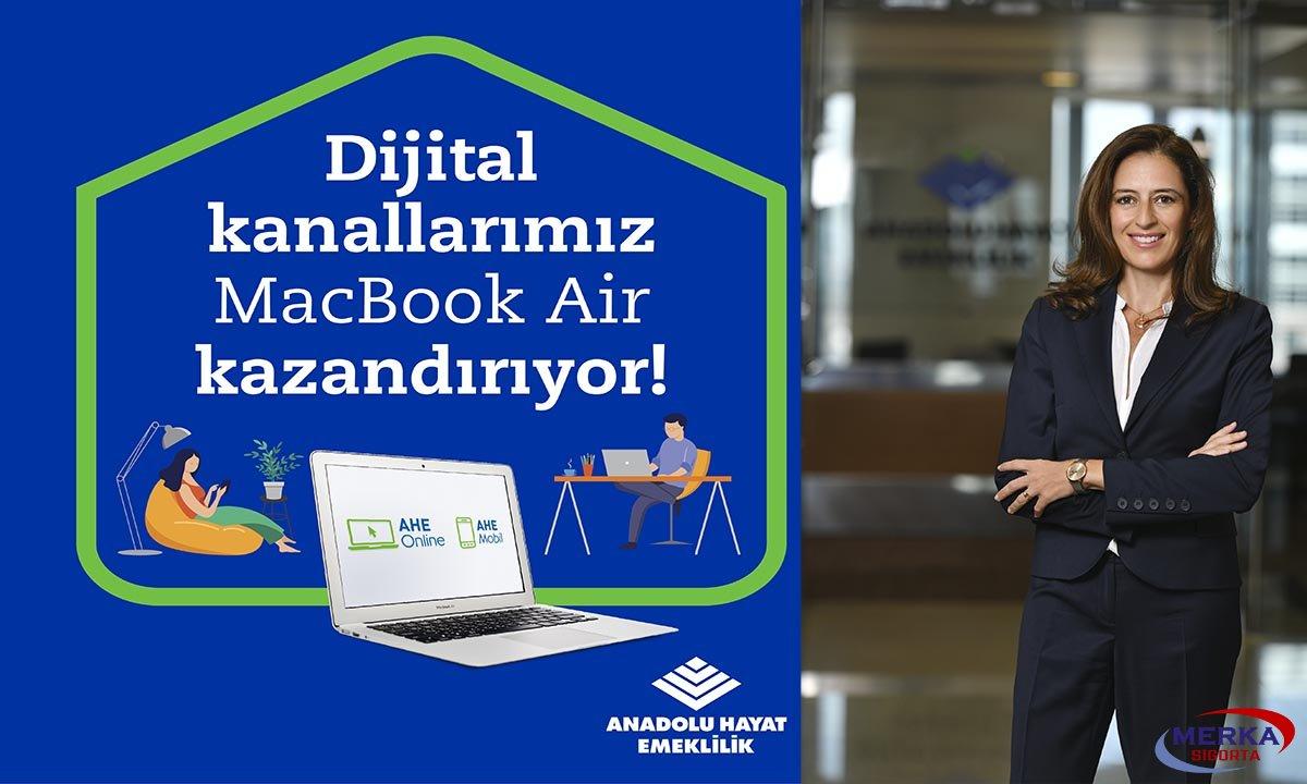 Anadolu Hayat Emeklilik, MacBook Air Kazandırıyor