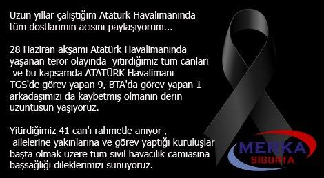 Atatürk Havalimanı Başımız Sağolsun