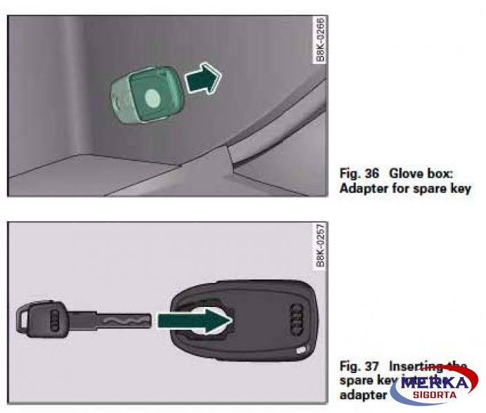 Audi marka araçlarda gizli anahtar sigorta kapsamında mıdır?