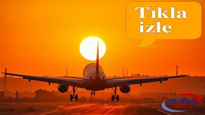 Bayramda Uçuşum Güvende Sigortası!video