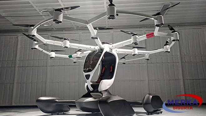 Drone helikopteri Hexa'yı halka açıyor