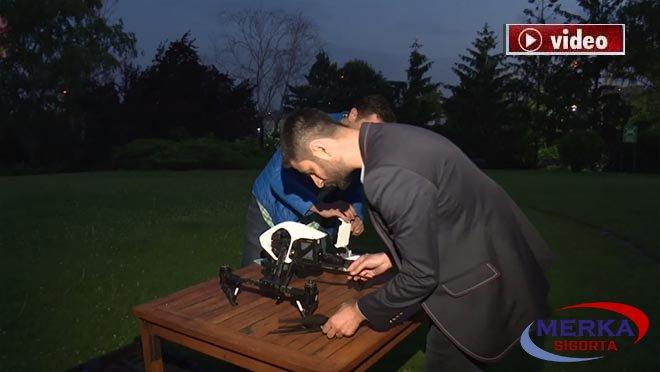 İki Türk, Drone'lar için termal kamera üretti!video