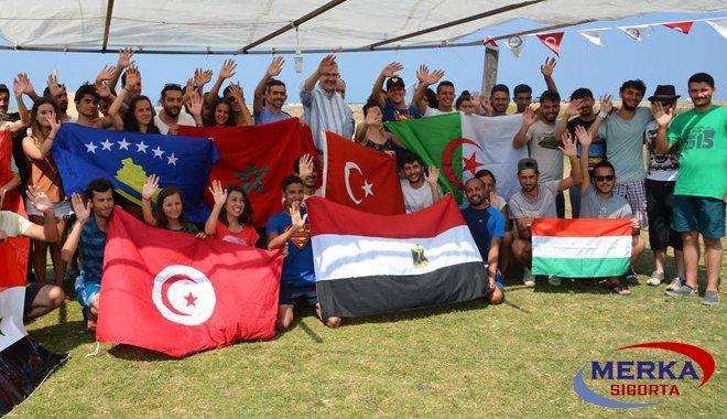 Karacabey 'Uluslararası Yaz Dil Kampı'na ev sahipliği yaptı