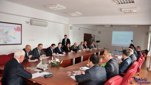 Karaman'da İl İstihdam ve Mesleki Eğitim Kurulu Toplandı