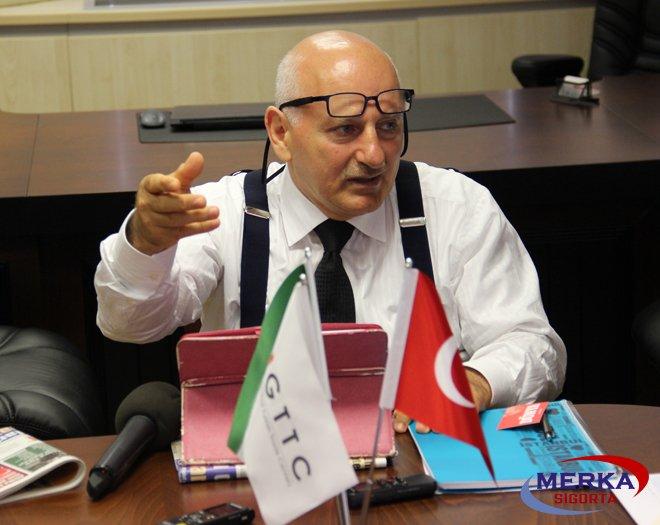Öztürk, İran'a İlk Ticaret Merkezini Kurduk
