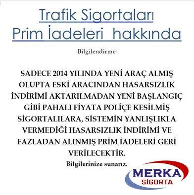 Trafik sigortaları para iadesi 31 Temmuzda