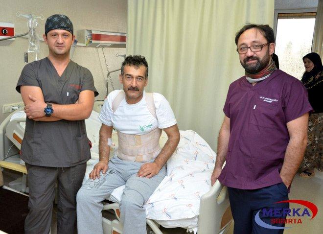 TSG Anadolu Hastanesi'nde iki başarılı ameliyat